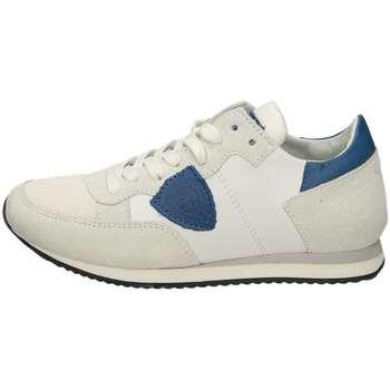 Scarpe Unisex bambino Sneakers basse Philippe Model TROPEZ Bianco