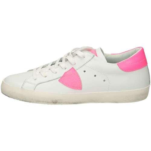 Scarpe Bambina Sneakers basse Philippe Model PARIS Bianco