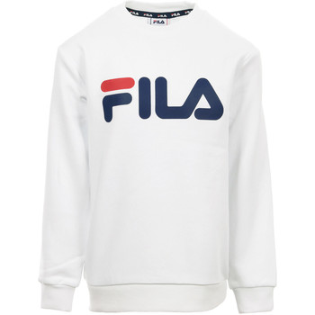 Abbigliamento Unisex bambino Felpe Fila Kids Classic Logo Crew Sweat Bianco