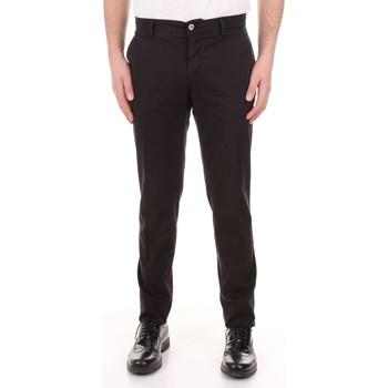 Abbigliamento Uomo Pantaloni 5 tasche Mason's MILANO-CBE024 Nero