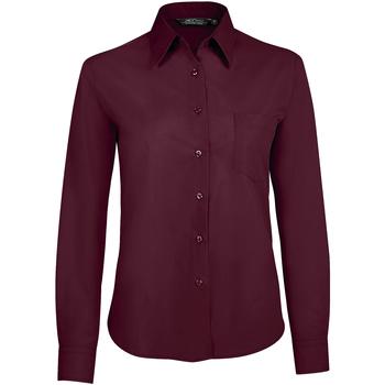 Abbigliamento Donna Camicie Sols EXECUTIVE POPELIN WORK violeta