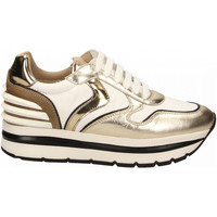 Scarpe Donna Sneakers basse Voile Blanche MAY POWER platino-bianco-sughero