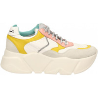 Scarpe Donna Sneakers basse Voile Blanche CREEP bianco-giallo