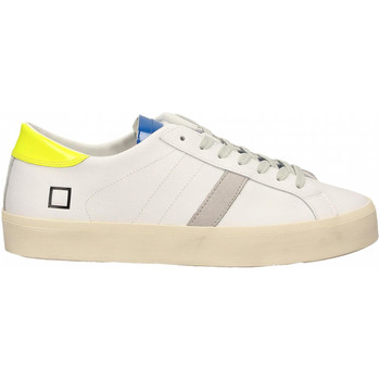 Scarpe Donna Sneakers basse Date HILL DOUBLE FLUO white-yellow