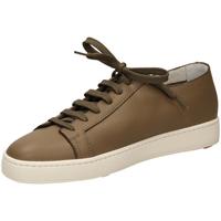 Scarpe Uomo Sneakers basse Santoni TENNIS 6F iam61-taupe