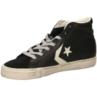 Scarpe Uomo Sneakers alte All Star PRO LEATHER VULC DIS black-nero