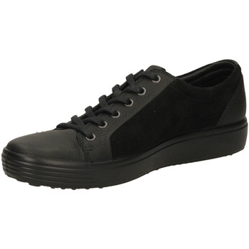 Scarpe Uomo Sneakers basse Ecco SOFT 7 MENS RUDO SPI black-nero