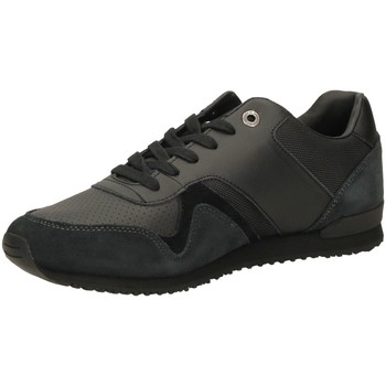 Scarpe Uomo Sneakers basse Tommy Hilfiger ICONIC LEATHER black-nero