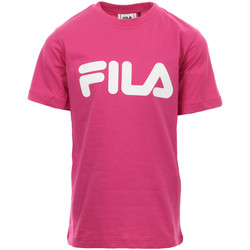 Abbigliamento Bambina T-shirt maniche corte Fila Kids Classic Logo Tee Rosa