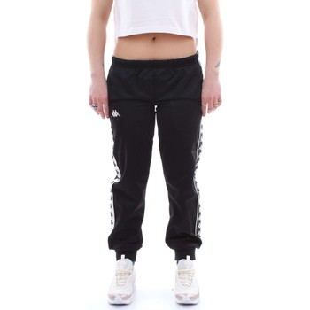 Abbigliamento Donna Pantaloni da tuta Kappa 303r5k0 Nero