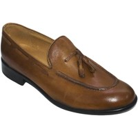 Scarpe Uomo Mocassini Malu Shoes scarpe uomo mocassino nappe cuoio stile uomo classico in vera p CUOIO