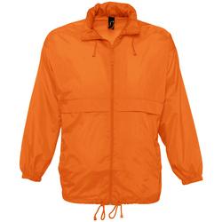 Abbigliamento giacca a vento Sols SURF REPELENT HIDRO Naranja