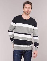 Abbigliamento Uomo Maglioni Casual Attitude LORISS Nero / Grigio