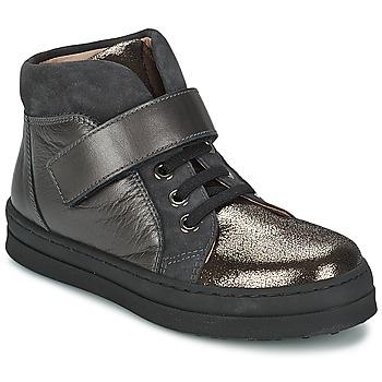 Scarpe Bambina Sneakers basse Unisa CALATA Grigio / Nero