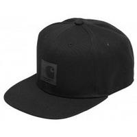 Accessori Cappellini Carhartt Cappello Logo Cap - Black Multicolore