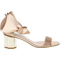 Scarpe Donna Sandali Guido Sgariglia Sandalo basso  in pelle bronzo,multicolore,platino