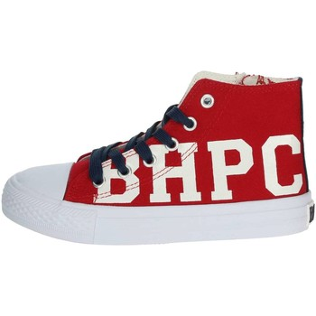 Scarpe Unisex bambino Sneakers alte Beverly Hills Polo Club BH4036 ROSSO