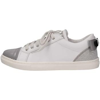 Scarpe Unisex bambino Sneakers basse Romagnoli 3720-126 BIA/ARG/NE Sneakers Bambina Bianco/argento Bianco/argento
