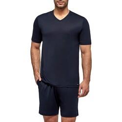 Abbigliamento Uomo Pigiami / camicie da notte Impetus Travel 4065F84 F86 Blu