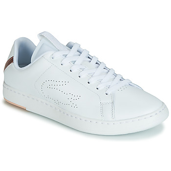 Scarpe Donna Sneakers basse Lacoste CARNABY EVO LIGHT-WT 119 3 Bianco / Rosa
