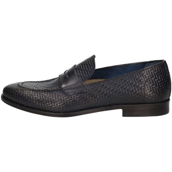 Scarpe Uomo Mocassini L'homme National 1012 Blu