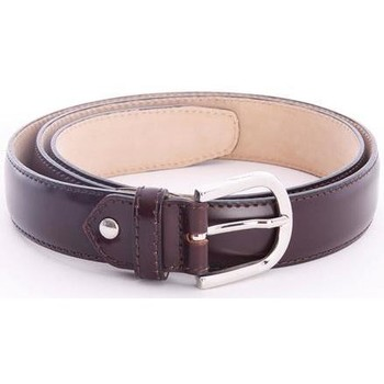 Accessori Uomo Cinture Berwick 1707 CINTURA  IN PELLE Brown