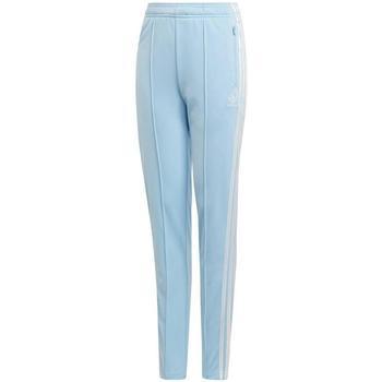 Abbigliamento Bambino Pantaloni da tuta Adidas Kids CC HW PANTS azurro