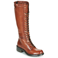 Scarpe Donna Stivali Dream in Green WADDAH Cognac