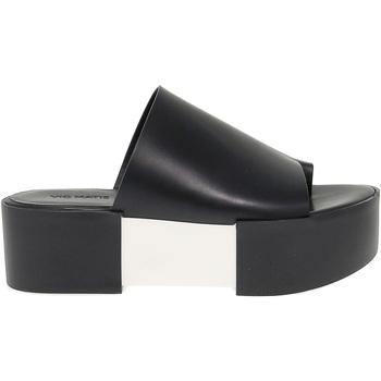 Scarpe Donna Sandali Vic Sandalo basso  in pelle bianco,multicolore,nero