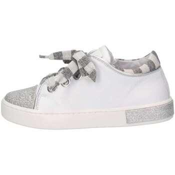 Scarpe Bambina Sneakers basse Romagnoli 3700-126 BIANCO/ARGE Bianco/argento