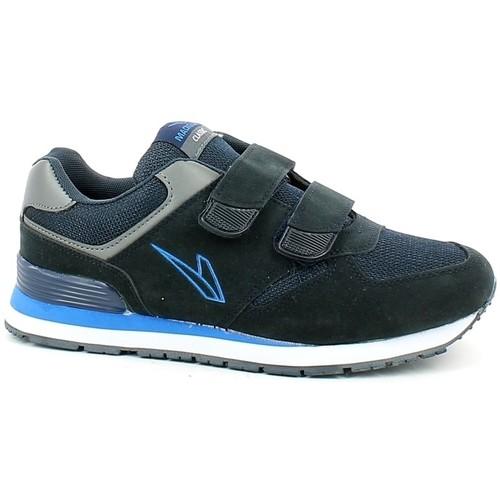 Sneaker in tessuto a rete blu Uomo RHAPSODY   L'Angolo