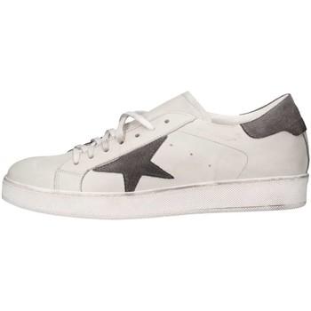 Scarpe Uomo Sneakers basse Made In Italia TRI101 2 Bianco/grigio