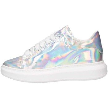 Scarpe Donna Sneakers basse Made In Italia REY 1D ARGENTO Argento
