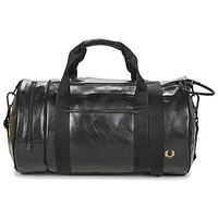 Borse Uomo Borse da sport Fred Perry TONAL BARREL BAG Nero