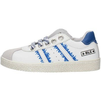 Scarpe Bambino Sneakers basse Balocchi 491699 Bianco e blu
