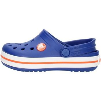 Scarpe Unisex bambino Zoccoli Crocs 204537 Blu e arancio