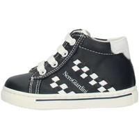 Scarpe Bambino Sneakers alte Nero Giardini MP P724142M Blu e bianco