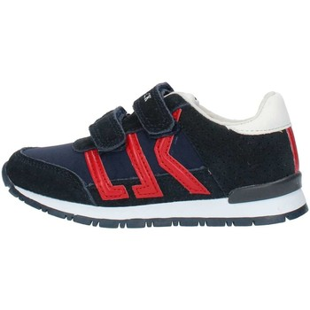 6ac503fa3a77d Scarpe Bambino Sneakers basse Lumberjack SB47505 Blu e rosso