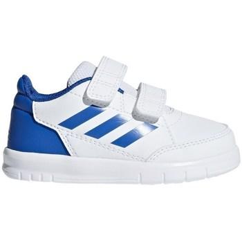 Scarpe Unisex bambino Sneakers basse adidas Originals Altasport CF I Bianco