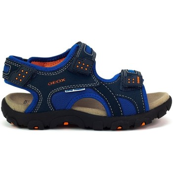 Scarpe Bambino Sandali sport Geox JR Strada Blu marino
