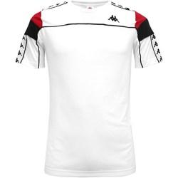 Abbigliamento Bambino T-shirt maniche corte Kappa 303wbs0-y Bianco