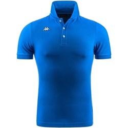 Abbigliamento Bambino Polo maniche corte Kappa 302B3D0-Y Blu