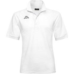 Abbigliamento Bambino Polo maniche corte Kappa 302B3D0-Y Bianco