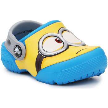 Scarpe Unisex bambino Zoccoli Crocs Crocsfunlab Minions Clog 204113-456 yellow, blue
