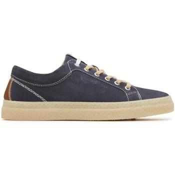 Scarpe Uomo Sneakers basse Igi&co 3134511 sneakers scarpe uomo in pelle blu corda caucciu Blue
