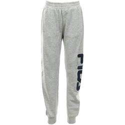 Abbigliamento Unisex bambino Pantaloni da tuta Fila Classic Basic Pants Kids Grigio