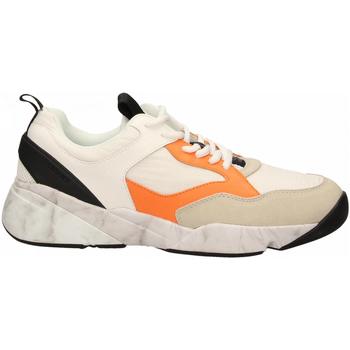 Scarpe Uomo Sneakers basse Cromier TECNOnylon white-orange