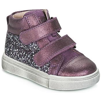 Scarpe Bambina Sneakers alte Acebo's 5299AV-LILA-C Viola