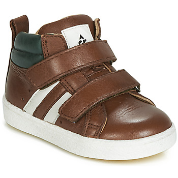 Scarpe Bambino Sneakers alte Acebo's 3040-CUERO-C Marrone