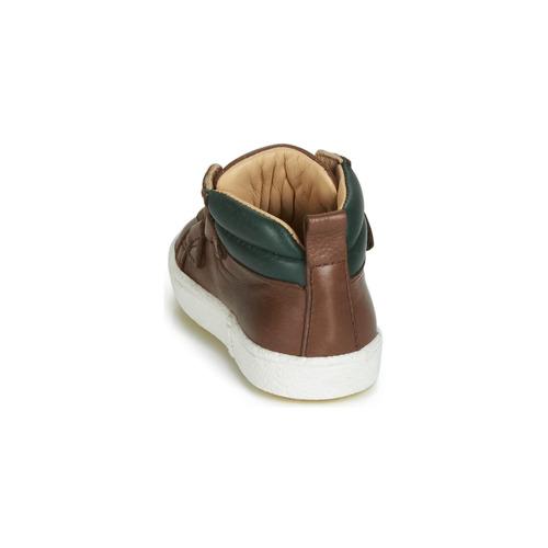 Acebo\'s 3040-cuero-c Marrone - Consegna Gratuita- Scarpe Sneakers Alte Bambino 6880